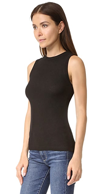 GETTING BACK TO SQUARE ONE Ribbed Muscle Tee