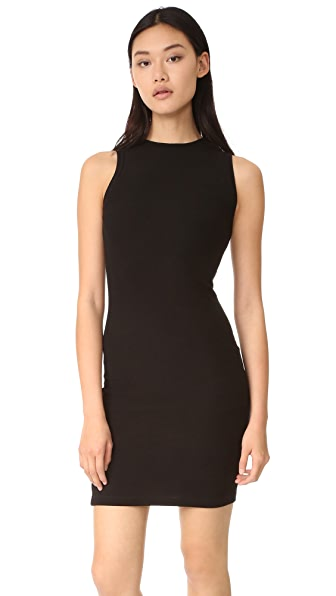 GETTING BACK TO SQUARE ONE Sleeveless Sweater Dress