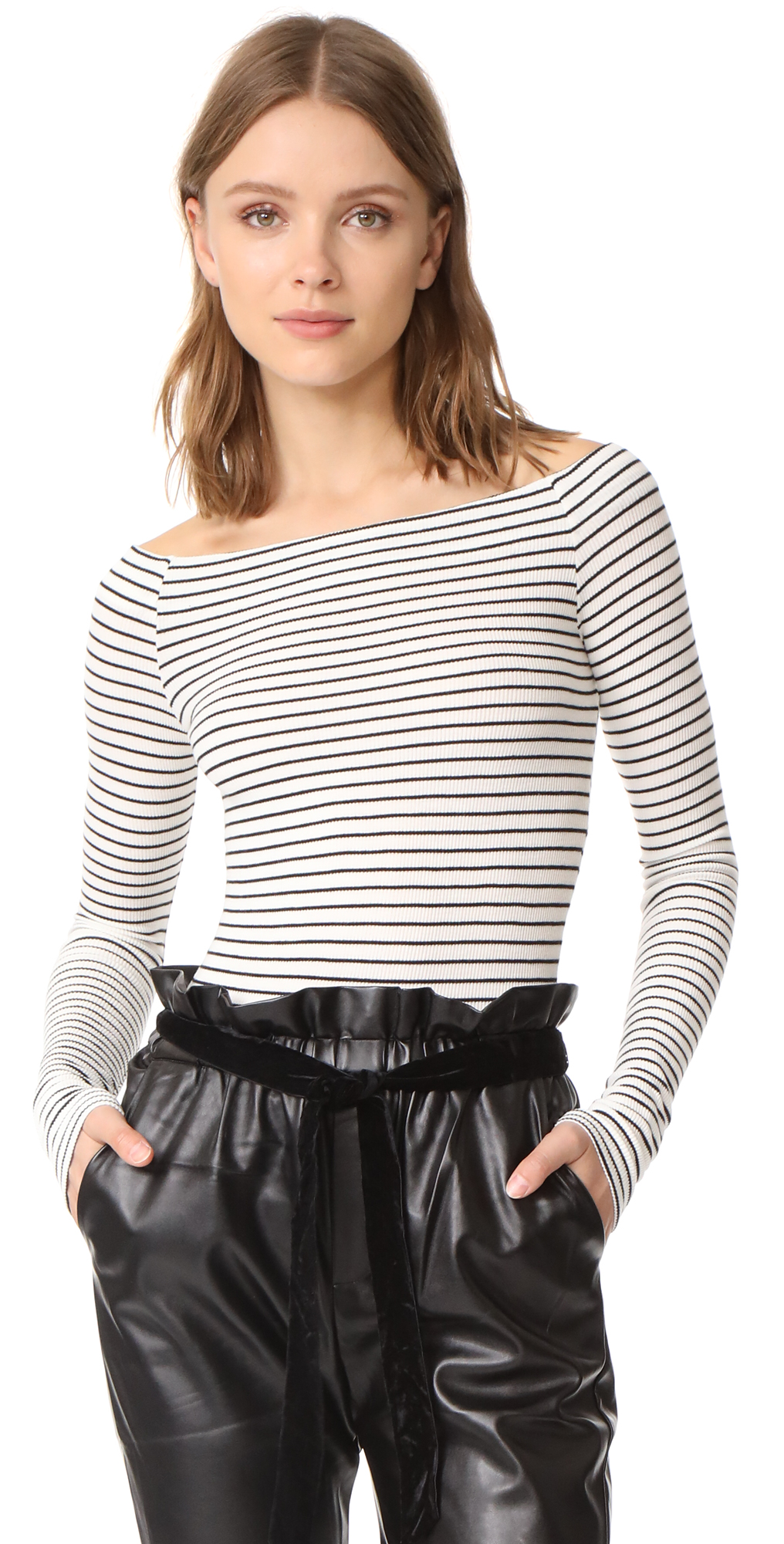 Off Shoulder Top GETTING BACK TO SQUARE ONE