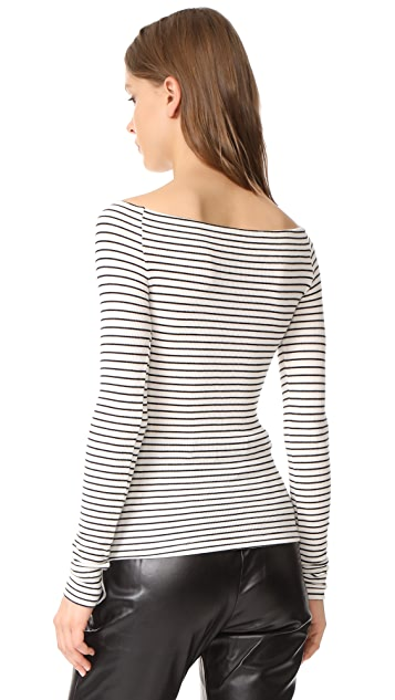 GETTING BACK TO SQUARE ONE Off Shoulder Top