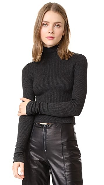 GETTING BACK TO SQUARE ONE The Turtleneck Sweater with Patches