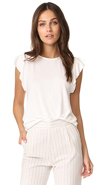 GETTING BACK TO SQUARE ONE The Ruffle Tee