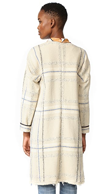 Giada Forte Jacquard Coat
