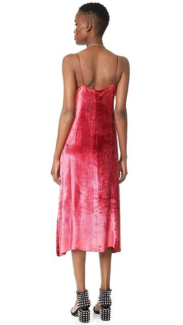 Giada Forte Velvet Slip Dress