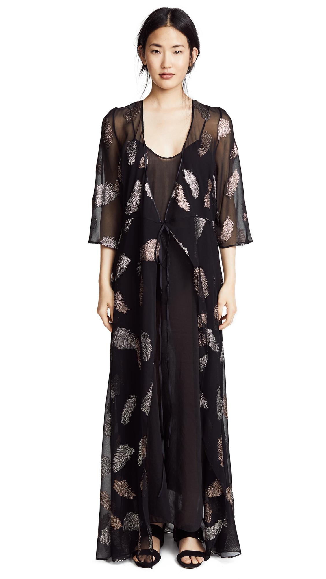 Forte Forte Fil Coupe Desert Leaf Print Dress