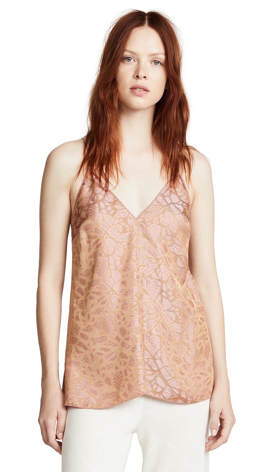 GIADA FORTE Autumn Leaf Top in Rosa