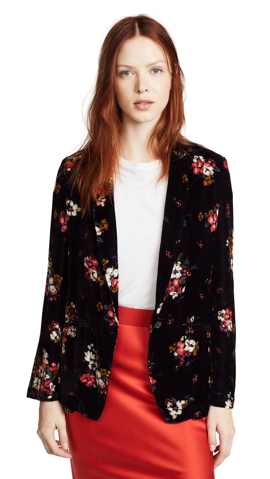 GIADA FORTE Garden Jacket in Nero