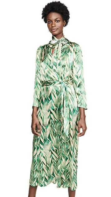 Forte Forte Printed Silk Dress