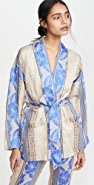 Forte Forte Saint Barth Jacquard Belted Jacket
