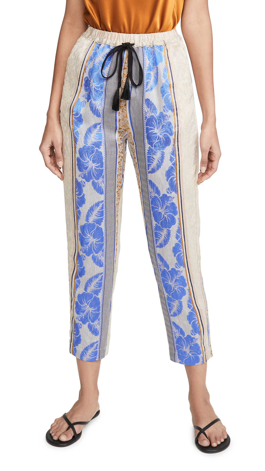 Buy Forte Forte online - photo of Forte Forte Saint Barth Jacquard Jogging Pants