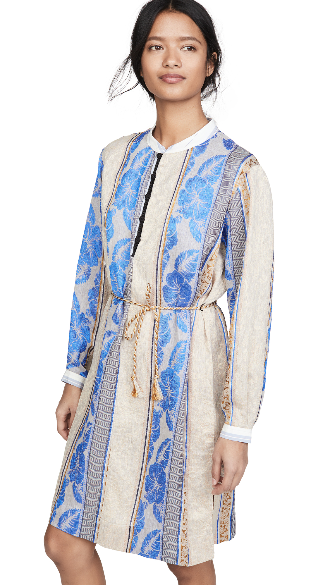 Buy Forte Forte online - photo of Forte Forte Saint Barth Jacquard Tunic Dress