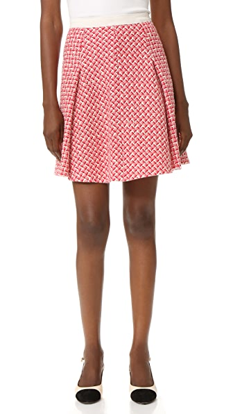 Giambattista Valli Tweed Miniskirt