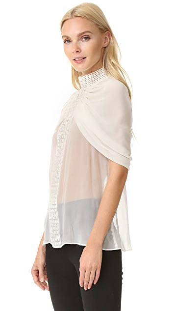 Giambattista Valli Cape Top
