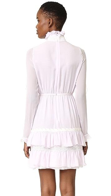 Giambattista Valli Ruffle Dress