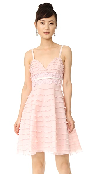 Giambattista Valli Sleeveless Flared Dress