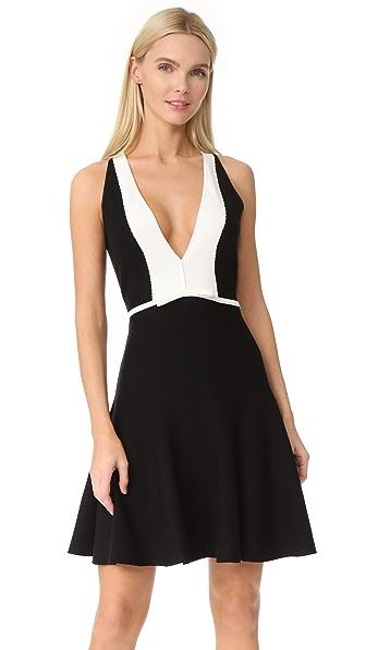 Giambattista Valli V Neck Dress