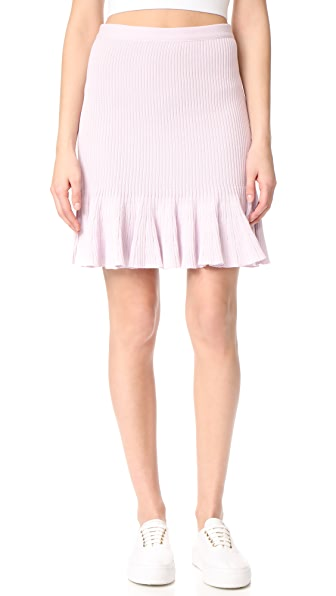 Giambattista Valli Ruffled Skirt - Pink