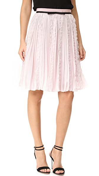 Giambattista Valli Ruffled Skirt