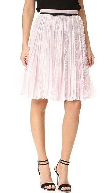 Giambattista Valli Ruffled Skirt