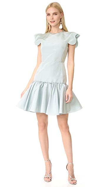 Giambattista Valli Short Sleeve Dress
