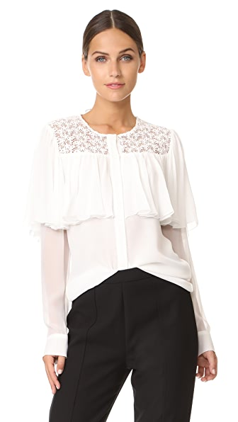 Giambattista Valli Blouse In Ivory
