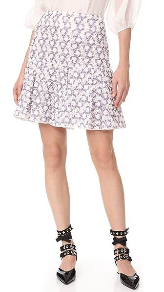Giambattista Valli Ruffle Skirt - Multi