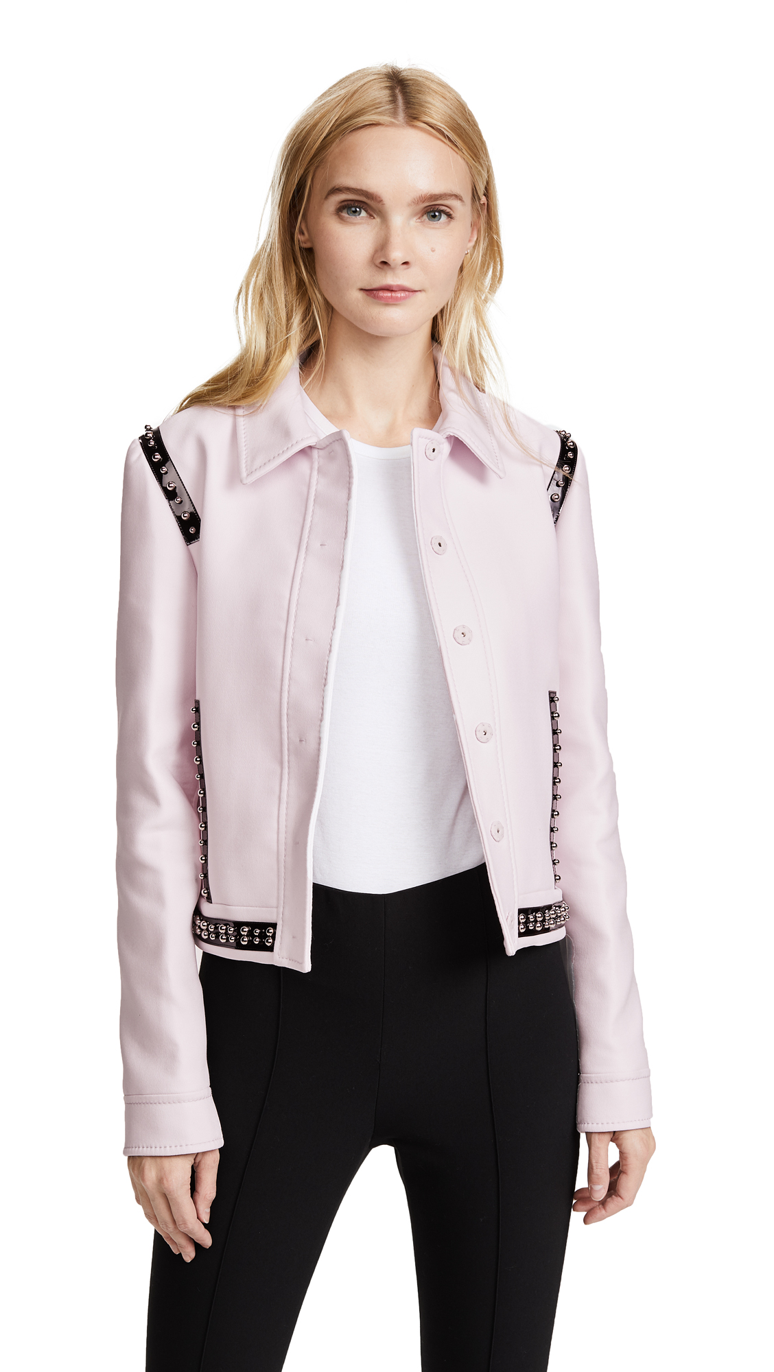 Giambattista Valli Collared Coat In Pink
