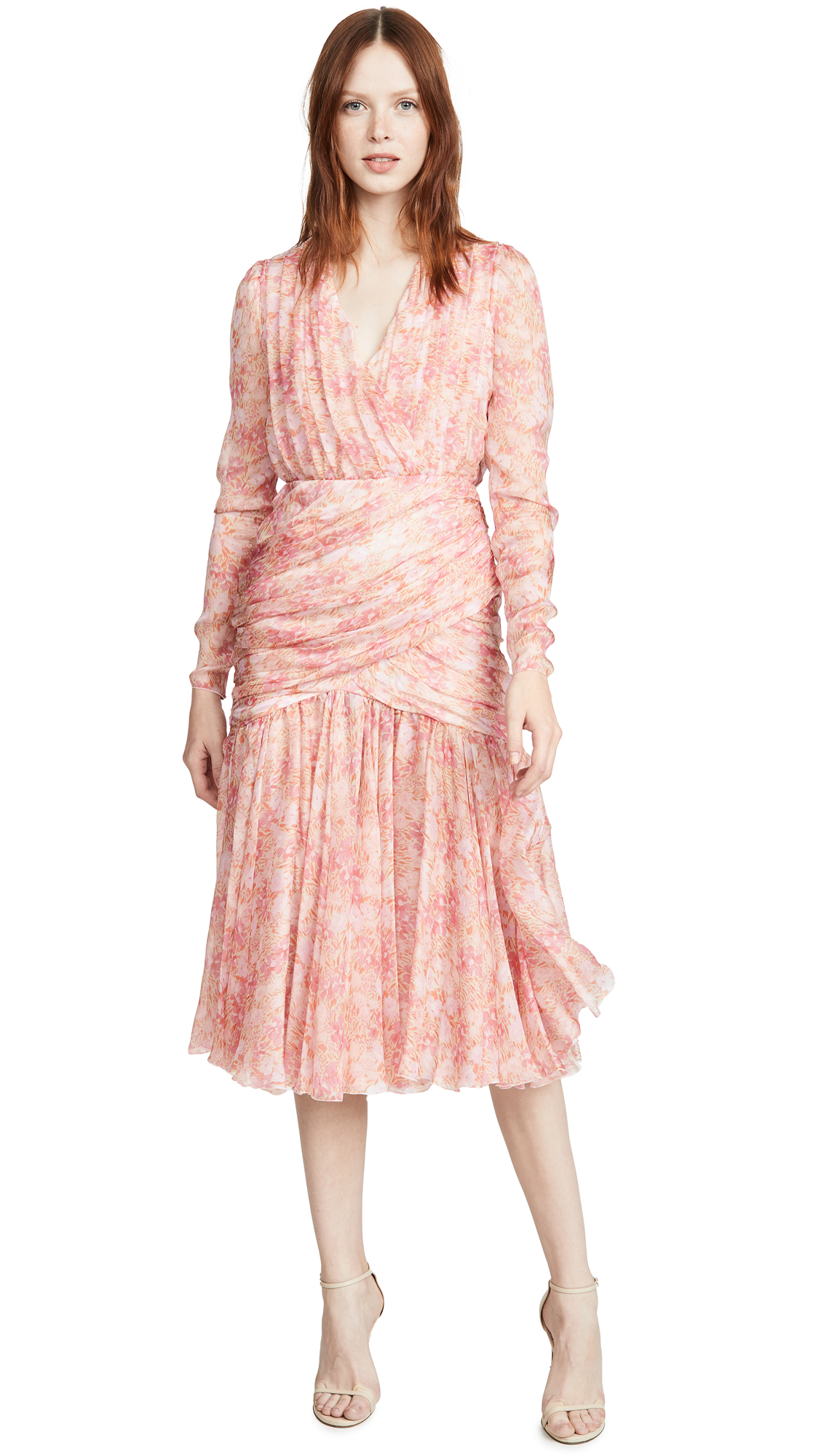 Buy Giambattista Valli online - photo of Giambattista Valli Midi Silk Dress