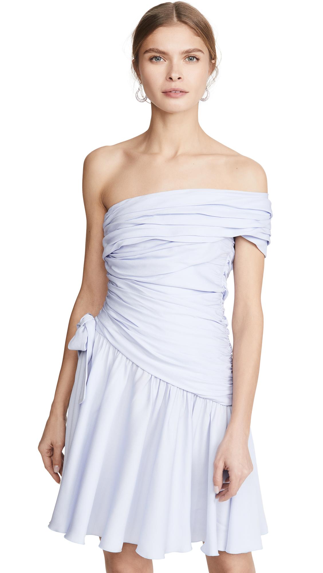 Buy Giambattista Valli online - photo of Giambattista Valli One Shoulder Mini Dress