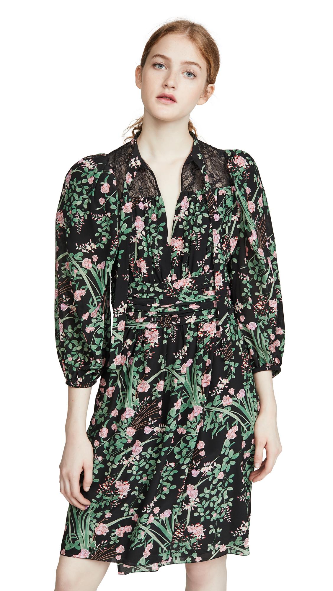 Buy Giambattista Valli online - photo of Giambattista Valli Puff Sleeve Mini Dress