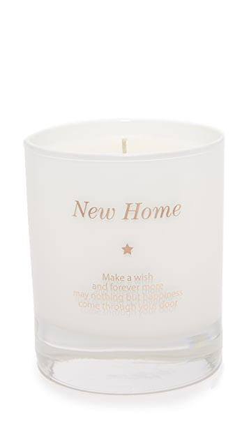 Gift Boutique Make a Wish in Your New Home Candle