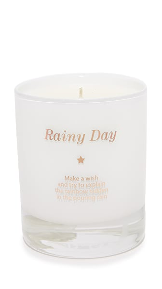 Gift Boutique Make a Wish on a Rainy Day Candle