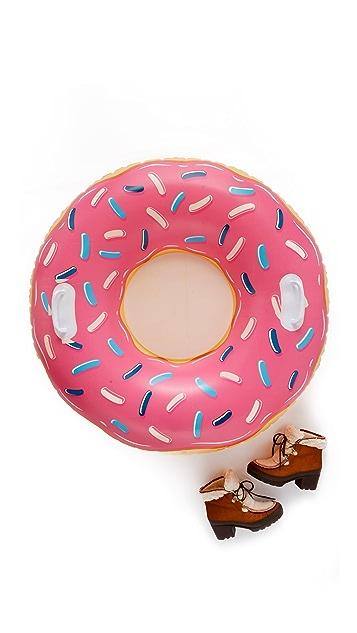 Gift Boutique Ватрушка для катания по снегу в виде пончика с глазурью