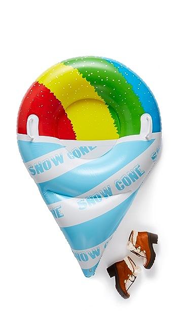 Gift Boutique Ватрушка для катания по снегу в форме фруктового мороженого-рожка