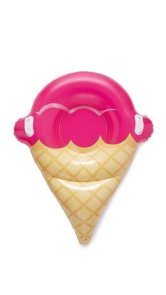 Gift Boutique Ватрушка для катания по снегу в форме мороженого-рожка
