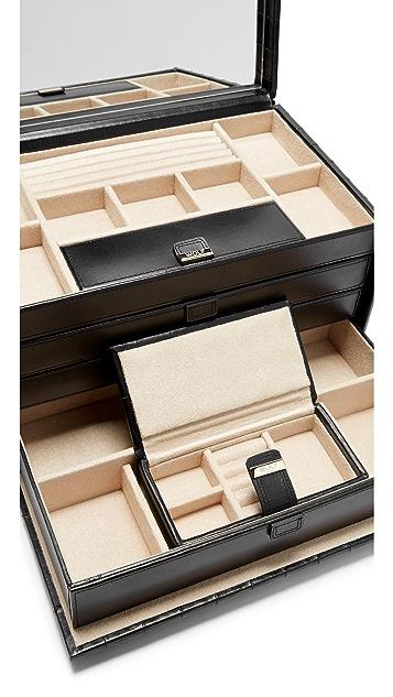 Gift Boutique WOLF Caroline Large Jewelry Case
