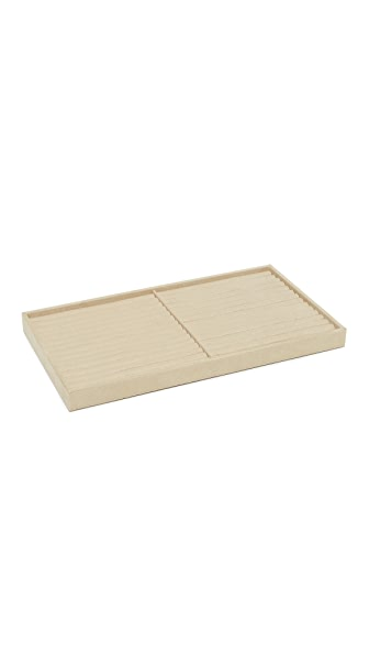 Gift Boutique WOLF Ring Insert Vault Tray In Beige