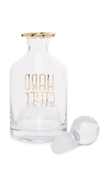 Gift Boutique Hard Stuff Decanter