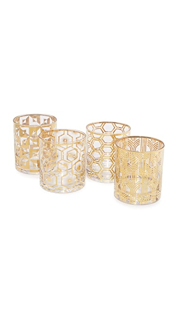 Gift Boutique Double Old Fashioned Glasses