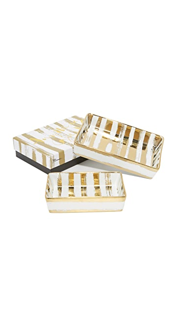 Gift Boutique Brushstroke Nesting Trays