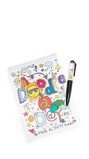 Gift Boutique Doodle a Day Activity Book & Pen Set