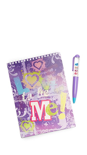 Gift Boutique Love to Be Me Activity Book & Pen Set