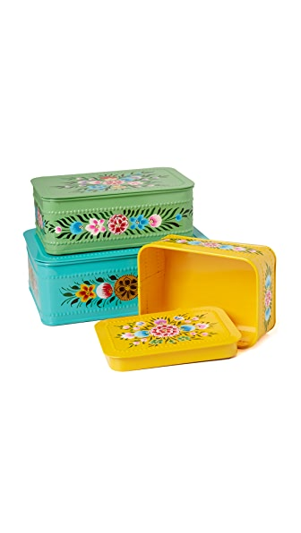 Gift Boutique Millifiori Set of 3 Boxes