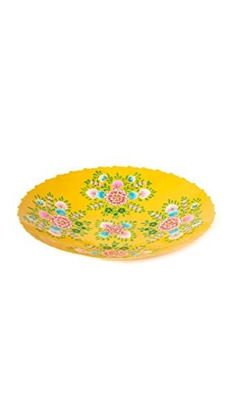 Gift Boutique Millifiori Tray - Yellow