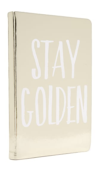 Gift Boutique Stay Golden Notebook