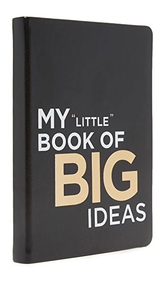 Gift Boutique My Little Book of Big Ideas Journal - Black