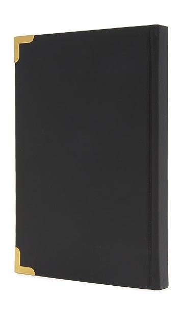 Gift Boutique Gold Corner Notes Journal