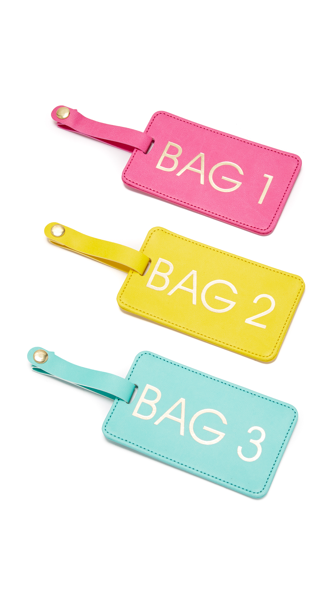 gift boutique female gift boutique bags 123 luggage tag box set multi