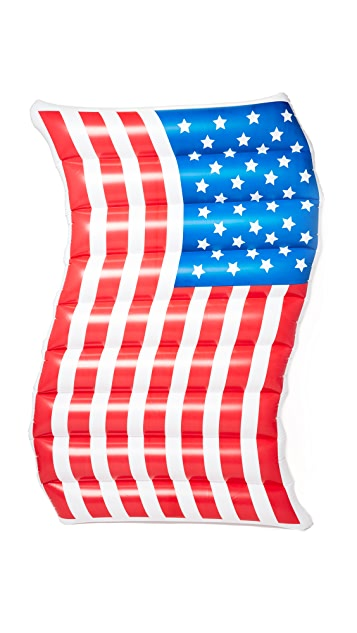 Gift Boutique Waving American Flag Pool Float