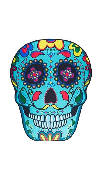 Gift Boutique Sugar Skull Beach Blanket